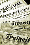 Newspapers from the IfZ archiv; © T. Köster