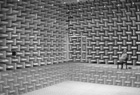 A binaural robot in a semi-anechoic room; photo: Weinzierl / TU Berlin, Department of Audio Communication