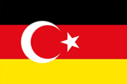 German-turkish freindshipflag; © rare – Fotolia.com