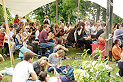 Sommerliche Musiktage Hitzacker, open air concert in the tradition-steeped vineyard; photo: © Susanne Römer