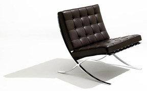 """Barcelona Chair"", Ludwig Mies van der Rohe, Knoll International"