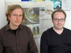 Bernd Stegmann and Björn Helbig, research assistant at the Future Institute, © Ute Zauft