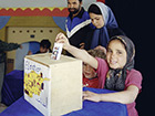 Playing elections in Afghanistan. Photo: Martin Gerner © Goethe-Institut