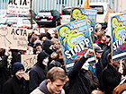 Anti-ACTA-Demo, Dortmund 2012 | © Tobias M. Eckrich; CC-BY-3.0