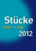 "The logo of Mulheim theater festival ""Plays"" (Stücke)"