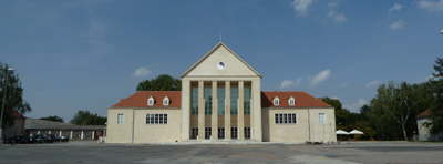 Das Festspielhaus in Dresden-Hellerau; Foto: Shoshana Liessmann
