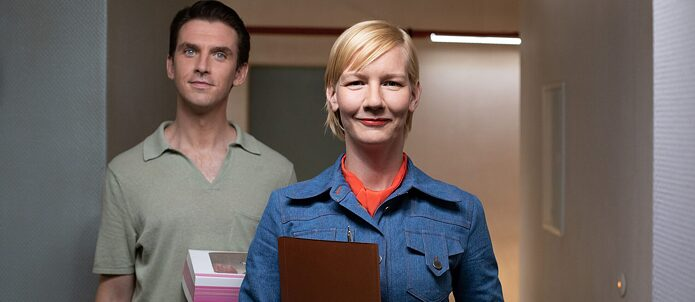 I'm Your Man, director Maria Schrader, with Sandra Hüller and Dan Stevens