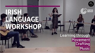 """Ealaín Means Art"" – Aoife O'Reilly: Irish Language Workshop at the Disappearing Wall Belfast"