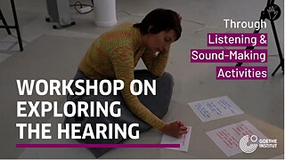 """Listen to My Ears"" – John D'Arcy: #7 Exploring the Hearing Workshop, Disappearing Wall"