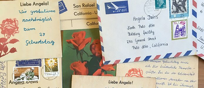 Postcards from the National United Committee to Free Angela Davis collection (M0262)