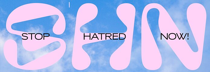 Stop Hatred Now Logo.