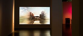 "Installation view ""Curvature of Events. Baroque. Romanticism. Video (2014)"" 17.10.2014 - 04.ß1.2015. Galerie Neue Meister"