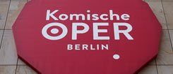 Logo of Komische Oper Berlin, Germany