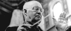 Paul Hindemith, conducting at the Konzerthaus Vienna;