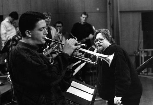 The trumpet player Till Brönner (with Peter Herbolzheimer) is one of the most famous former members of the National Youth Jazz Orchestra.