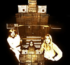Tangerine Dream (1974), one of the worldwide most successful bands of Krautrock.