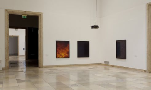 Trevor Paglen, Picure against picture, installation view, 2012;