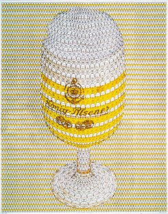 Thomas Bayrle, One Pils, Please, 1972; Courtesy the artist and Galerie Barbara Weiss, Berlin;