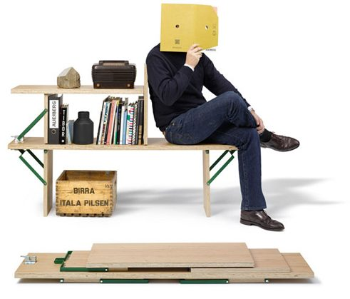 Book Bench, Design: Christoph Böninger