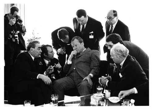 Leonid Breschnew, Willy Brandt, Bonn, 1973