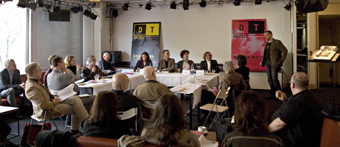 Press conference of the Deutsches Theater Berlin, season 2008/2009
