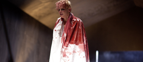 """Macbeth"" by W. Shakespeare, director: Karin Henkel, Münchner Kammerspiele"