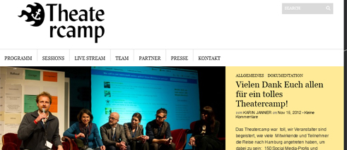 "Screenshot vom ""Theatercamp"" am Thalia Theater Hamburg"