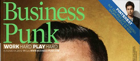 "Business Punk"", cover of the 4/2012 edition"