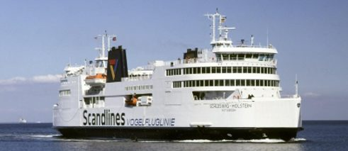In use since 1997: the ferry MS Schleswig-Holstein