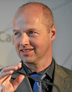 Sebastian Thrun, Research Professor of Computer Science at Stanford University, USA.
