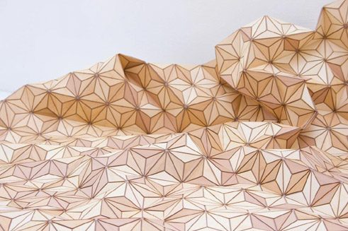 "Elisa Strozyk ""WOODEN CARPET"", produced by BOEWER"