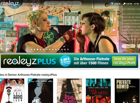 Realyz.tv, an independent initiative in Berlin, distributes the works of independent filmmakers.