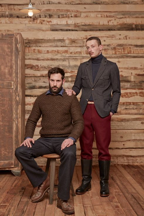 Frank Leder, Collection autumn/winter 2014/15