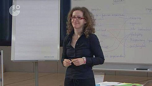 Lesson with adults at Goethe-Institut München © Goethe-Institut; DLL