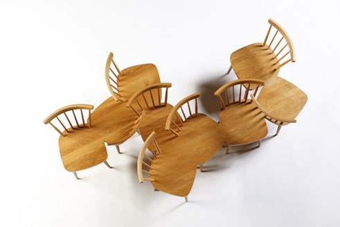 Yvonne Fehling / Jennie Peiz, Chairstoolbench 2009 edition of 5
