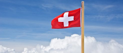The Swiss flag; © colourbox.com