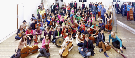 Agile, creative, independent – the team of the Young German Philharmonic