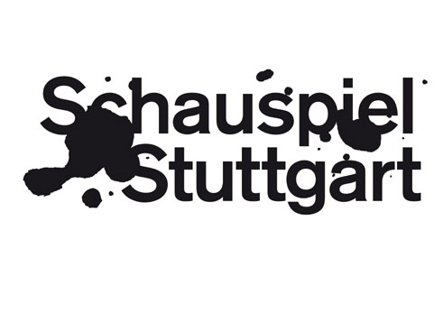 Logo of the Stuttgart Schauspiel during Armin Petra's tenure as intendant (since 2013);
