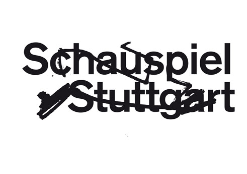 Logo of the Stuttgart Schauspiel during Armin Petra's period as intendant (since 2013);