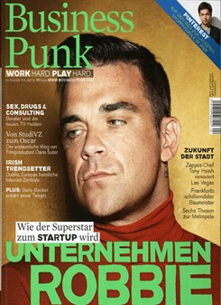 """Business Punk"", cover of the 4/2012 edition"