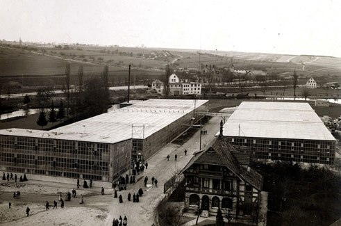Factory Building, historical view