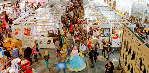 Die internationale Buchmesse in Frankfurt