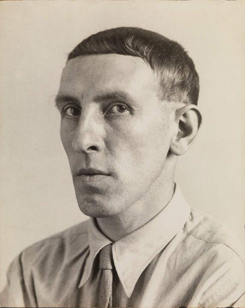 August Sander, Painter [Heinrich Hoerle], 1928 Collection Lothar Schirmer, Munich