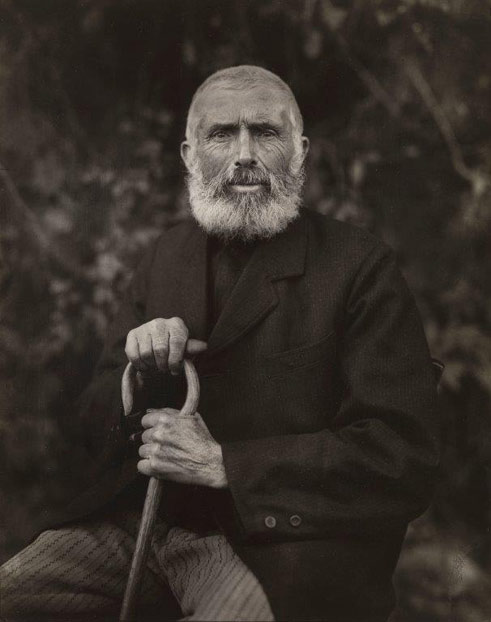 August Sander, Man Close to the Earth, 1910, Collection Lothar Schirmer, Munich
