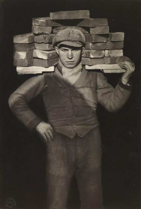 August Sander, Handyman, 1928, Collection Lothar Schirmer, Munich