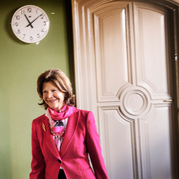 Queen Silvia from Sweden (Photo: Moa Karlberg) title=