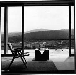 Coffee table in the house of Albert Metzler, Arnoldshain / Taunus, 1957