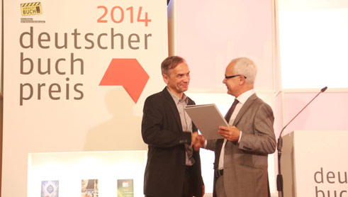 A modest winner type: Lutz Seiler, winner of the 2014 German Book Prize.