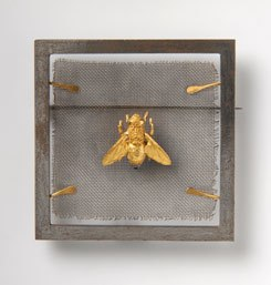 "Hubertus von Skal, Brooch ""Fly on Fly Screen"", 1967, on permanent loan to the Danner-Stiftung, Munich"