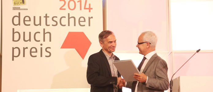 A modest winner type: Lutz Seiler, winner of the 2014 German Book Prize;